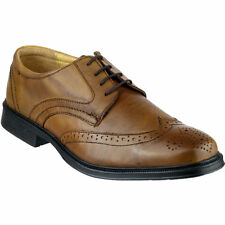 Cotswold Mickleton Lace Up Premium Leather Oxford Brown UK7 EU40 JS10 28 www