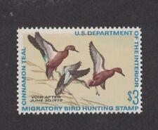 RW38 - Federal Duck Stamp. Single. MNH. OG.    #02 RW38