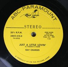 Rock Compact 33 45 Ray Charles - Just A Little Lovin' / Born To Lose On Abc-Para