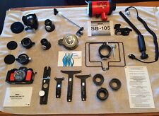 Nikonos V Camera kit, 3 lenses (15mm, 28mm, and 35mm), strobe and Pelican Case