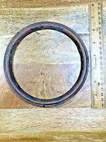 """Old Clock Dial Trim Ring (6.5"""" Outer  Diameter and 5.41"""" Inner Diameter) (K1933)"""