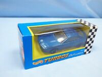 1995 Hot Wheels Turbos CORGI Base 1990 Blue Metallic BMW 850i Diecast Car Toy