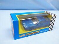 1995 Hot Wheels Turbos CORGI Base 1990 Blue Metallic BMW 850i Diecast Car Toy