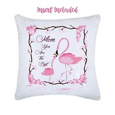 Sequin Cushion Flamingo, Mothers Day Gifts, Gift ideas, gift to her, Flamingo