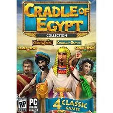 Cradle of Egypt 4 pack Collection PC - New - Cradle of Rome 1 & 2, & Persia
