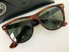 0ba8655127 Vintage Ray-Ban RB B L L1725 NOAS Tortoise WAYFARER II Sunglasses USA with  case