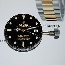 Rare Rolex Submariner 166XX Dial Hands And Movement Cal.1570,Complete & Working!