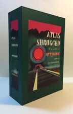 CUSTOM SLIPCASE Ayn Rand ATLAS SHRUGGED 1st Edition / 1st Printing