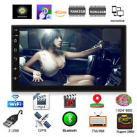 Android 9.1 Touch Screen Car Stereo FM Radio No DVD Player GPS Navigation WIFI