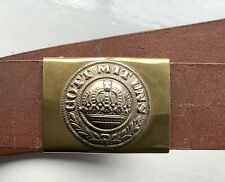 WW1 German Belt and Buckle Reproduction