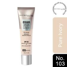 Maybelline Dream Urban Cover SPF50 All-In-One Protective Makeup, 103 Pure Ivory
