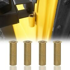 Replaced Brass Door Hinge Bushing Inserts Pin Fit 1997-2006 Jeep Wrangler TJ 2DR