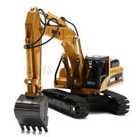 HUINA 1:50 Diecast Crawler Excavator Construction Vehicle Model Child Gift New