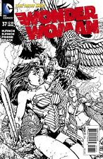 New DC 52 WONDER WOMAN #37 1:50 DAVID FINCH VARIANT SKETCH COVER