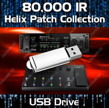 80,000+ IR IMPULSE RESPONSE PATCHES - LINE 6 HELIX NATIVE FLOOR & RACK USB