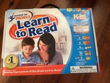 Hooked On Phonics Learn To Read K To First Grade Edition