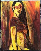 """Apache Exotica"", #michaelscottwoodcock  Art Original Oil Painting Canvas"