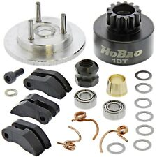 HoBao Hyper 7 TQ Ofna * MAC STAR .28 13T CLUTCH BELL, FLYWHEEL, SHOES & SPRINGS
