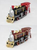 Welly 7 inch Die Cast Super Locomotive Train Black / Brown Model Collection New