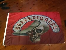 STONE OFFICIAL postwr MAN CAVE FLAG bar pool room wallhanging biker easy rider