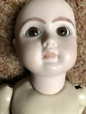 Steiner Porcelain Repro Head On A Compo Body 16 Inches Tall