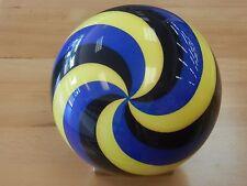 New listing NIB 12# Brunswick Spiral Yellow/Blue Viz-a-ball Bowling Ball
