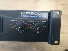 Behringer EP2000 2000 Watt Stereo Power Amplifier
