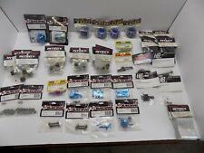 Rc Racing Parts, Racing Heatsink Kyosho, Integy, 3Racing, Tamiya. Lot 65 pieces