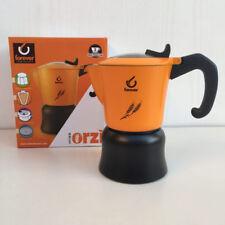 ORZIERA CAFFETTIERA MISS ORZI FOREVER X CAFFE/' ORZO 2-4 TAZZE COLORE ARANCIO