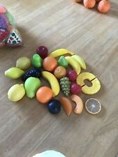 Realistic Pretend Play Food Kitchen Fruit Lot