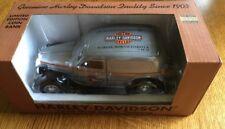 RARE 1935 Ford Sedan HARLEY-DAVIDSON Dealer Promo Car Bank 1 of 48 FARGO, ND NIB