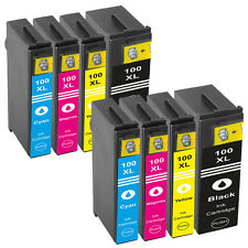 8 Ink Cartridges For Lexmark 100XL S815 S605 S505 205 S305 S402