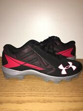 New Mens Under Armour Ryan Zimmerman Baseball Cleats Size 12 Black Zims Mcs Pe