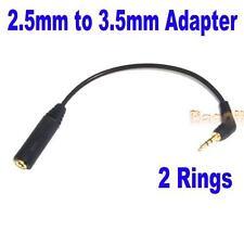 Cable Adaptateur Convertisseur Audio Fiche Jack 2,5mm Male 3,5mm Femelle Mp3 HG
