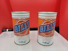 New listing Vintage Billy Beer Steel Pull Tab Beer Can