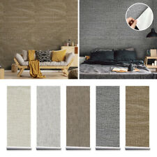 Textured Wall Sticker Self-Adhesive Waterproof Rolls Wallpaper Furniture Decor