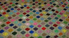 NEW Handmade crochet Afghan Blanket 89 x 92 Queen king size topper coverlet