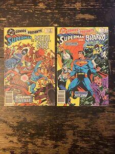 DC Comics Present #70, 71 (Superman, Metal Men, Bizarro) Free Combine Shipping