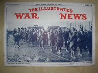 WW1 ILLUSTRATED WAR NEWS JANUARY 19th 1916 No 76 1914-18 CENTENARY