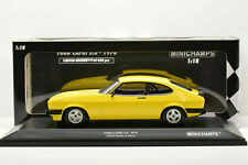 FORD CAPRI 3.0 RS 2600 1978 YELLOW MINICHAMPS 155788601 1/18 LIMITED EDITION 350