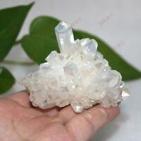 Natural Crystal Quartz Cluster Gem Stone Healing Specimen Reiki Polishing Decor