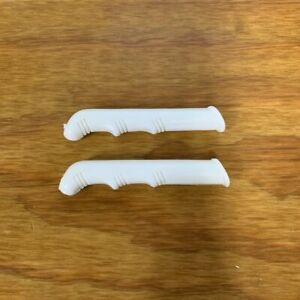 SCHWINN STINGRAY WHITE LEVER COVERS FIT COTTON PICKER & OTHERS NOS