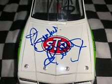 1988 Richard Petty 1/24 Autographed And Dale Inman STP #6 Monte Carlo