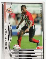 figurina CARD WCCF EUROPEAN CLUB 2004/05 PANINI NEW 112 PSV EINDHOVEN VONLANTHEN