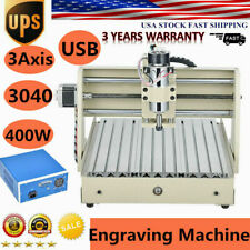 Usb 3axis 400w 3040cnc Router 3d Engraver Engraving Drilling Milling Machine Usb