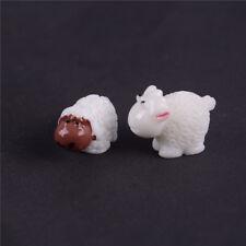 2x Sheep Garden Decoration Moss Miniature/Terrarium DIY Accessories DollhouoseSK