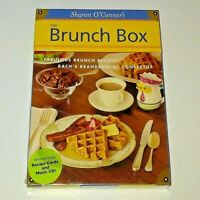 The Brunch Box Sharon O'Connor Special Edition 3 - Recipes and Bach Music CD NEW