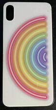 Rainbow 🌈 Slim Cellphone 📱 Case For Apple iPhone Xs Max - Hard Plastic Case