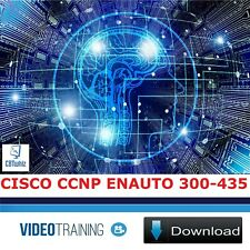 Cisco CCNP Enterprise (300-435 ENAUTO) CBT Training Videos