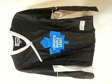 Reebok Women's NHL Jersey Maple Leafs Team Black Fashion sz S